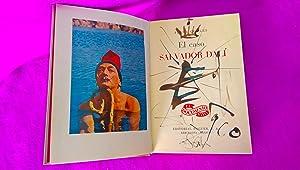 EL CASO DE DALÍ CON DIBUJO-DEDICATORIA ORIGINAL: D. Salvador Dalí,