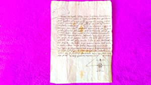 DOCUMENT MANUSCRIT, BATEIG DEL 1570, BAPTISME. 26X15. CURIOS