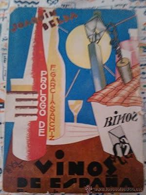 VINOS DE ESPAÑA, SIGNED 1929: JOAQUIN BELDA