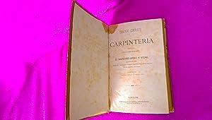 TRATADO COMPLETO DE CARPINTERIA, NARCISO ARNAU Y VIDAL 1881: NARCISO ARNAU Y VIDAL