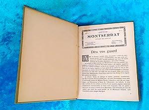 BUTLLETI DEL SANTUARI DE MONTSERRAT, 12 PRIMERS NUMEROS 1927: SANTUARI DE MONTSERRAT