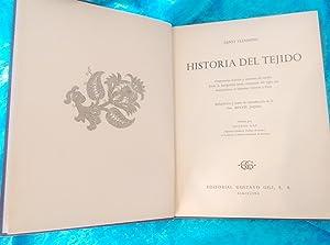 HISTORIA DEL TEJIDO, ERNST FLEMMING, DRA RENATE JACQUES, ESTEBAN GAY 1958: ERNST FLEMMING, DRA ...