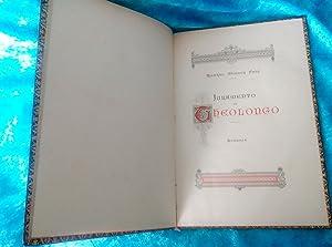 JURAMENTO DE THEOLONGO, ROMANCE, RICARDO MONNER SANS, ANA FORTUNY ALEMANY 1885: RICARDO MONNER SANS...