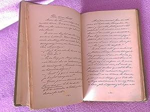 MANUSCRIT CATALA. FRANCISCO FLOS I CALCAT, 1908: FRANCISCO FLOS I CALCAT