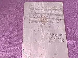 DOCUMENTO ORIGINAL DE S. M. EL REY