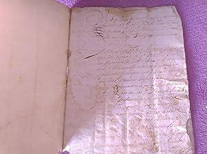 CAPBREU DE MONISTROL DE MONTSERRAT 1703