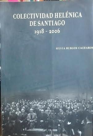 Colectividad Helénica de Santiago : 1918 - 2006: Burgos Cacharos, Silvia
