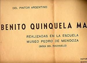 Pinturas Murales del Pintor Argentino Benito Quinquela: Quinquela Martin, Benito