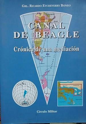 Canal de Beagle : crónica de una: Etcheverry Boneo, Ricardo