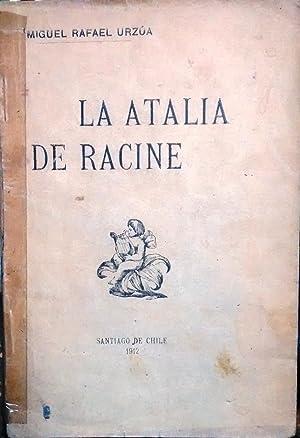 Atalia. Tragedia en cinco actos. Traducción en versos castellanos por el presbítero ...