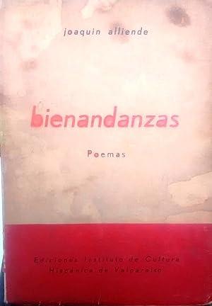 Bienandazas. Poemas. Presentación Miguel Arteche. Ilustraciones de: Alliende Luco, Joaquín