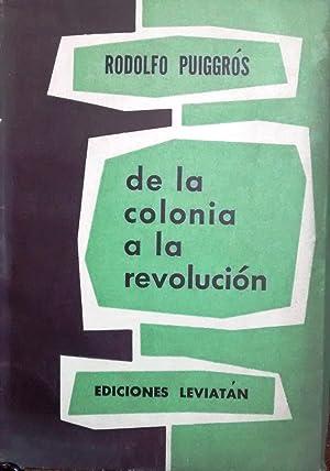 De la colonia a la revolución: Puiggrós, Rodolfo