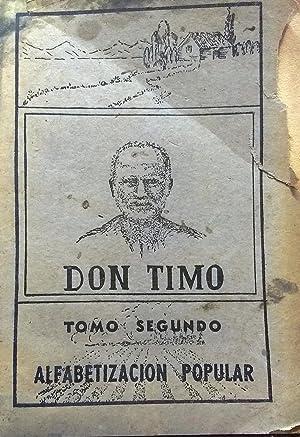 Don Timo. Libro único para la enseñanza: Moll Briones, Luis