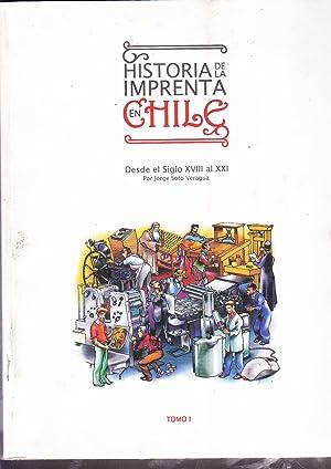 Historia de la Imprenta en Chile. desde: Soto Veragua, Jorge