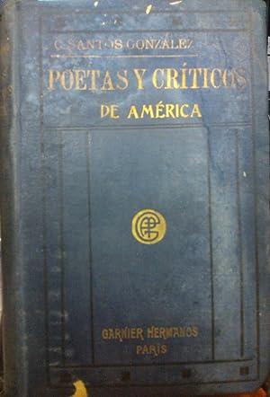 Poetas y críticos de América: Santos González, C.