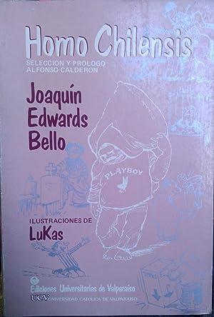 Homo chilensis. Selección y prólogo de Alfonso: Edwards Bello, Joaquín