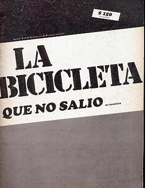 La Bicicleta Que no Salió en Noviembre: De La Fuente,