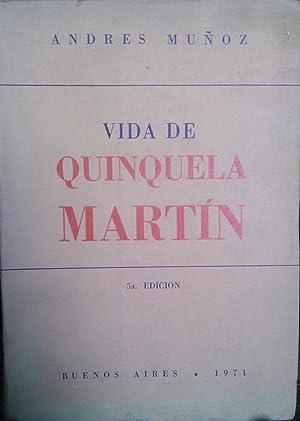 Vida de Quinquela Martín. Edición abreviada compuesta: Muñoz, Andrés