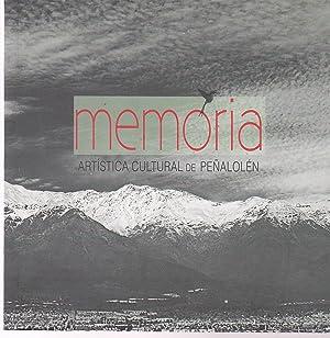 Memoria Artística Cultural de Peñalolén: Ortiz Otárola,Mónica