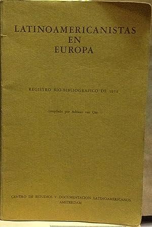 Latinoamericanistas en Europa. Registro bio-bibliográfico de 1976: Ossa, Adriaan van