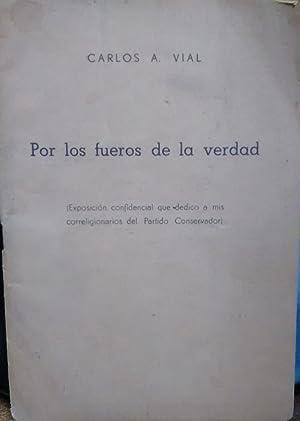 Por los fueros de la verdad (: Vial, Carlos A.