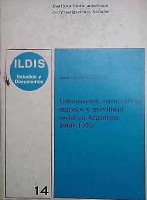 Urbanización, estructura de ingresos y movilidad social: Rubinstein, Juan Carlos