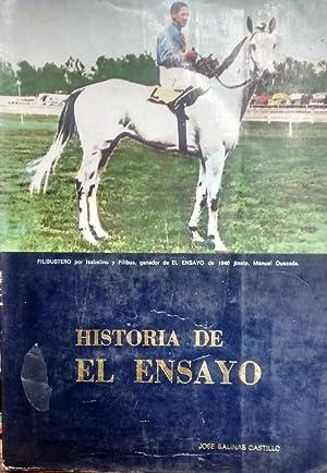 """Historia de """" El Ensayo """": Salinas Castillo, José"""