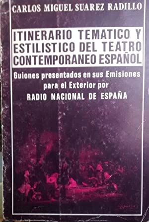 Itinerario temático y estilístico del teatro contemporáneo: Suárez Radillo, Carlos