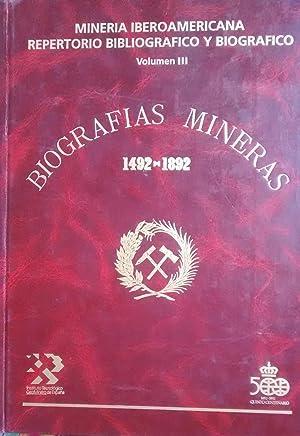 Minería Iberoamericana. Repertorio bibliográfico y biográfico. Prólogo Antonio del Valle Menéndez. ...