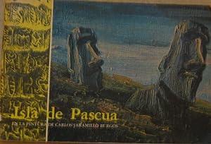 Isla de Pascua en la pintura de: Jaramillo Burgos, Carlos