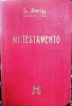 Mi Testamento dedicado a sanos y enfermos.: Kneipp, Monseñor Sebastián