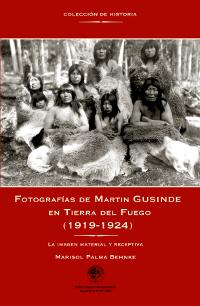 Fotografias de Martin Gusinde en Tierra del: Palma Benhke, Marisol