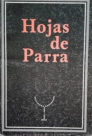 Hojas de Parra. Edición y notas de: Parra, Nicanor