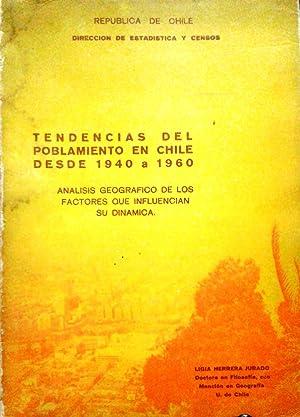 Tendencias del poblamiento en Chile desde 1940: Herrera Jurado, Ligia