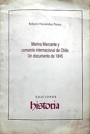 Marina Mercante y comercio internacional de Chile.: Hernández Ponce, Roberto