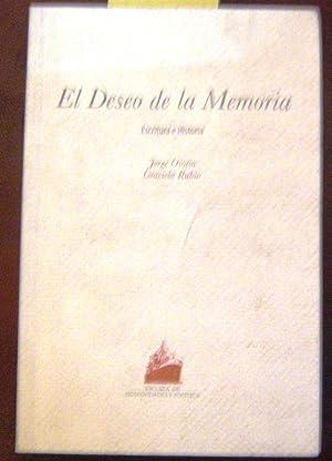 El deseo de la memoria. Escritura e: Osorio Jorge, Rubio