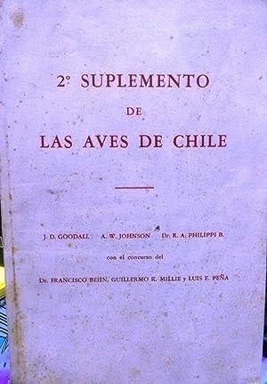 2° Suplemento de las Aves de Chile: Goodall, J.D. -