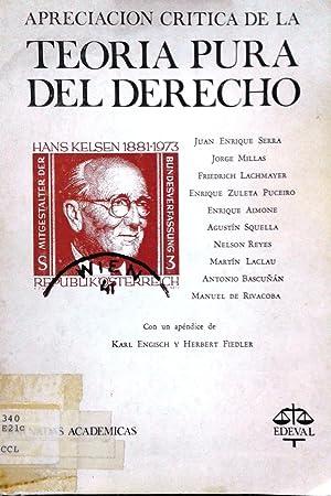Apreciación crítica de la Teoría Pura del: Serra, Juan Enrique