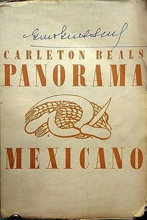 Panorama mexicano ( Mexican maze ). Luchas,: Beals, Carleton (