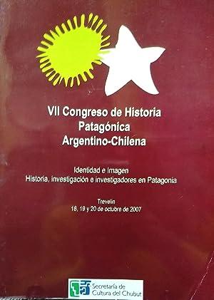 VII Congreso de Historia Patagónica Argentino-Chilena. Identidad