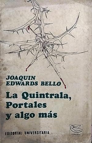 La Quintrala, Portales y algo más. Nota: Edwards Bello, Joaquín