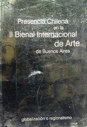 Presencia chilena en la II Bienal de