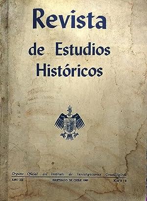 Revista de Estudios Históricos N°8-9 Año XII.