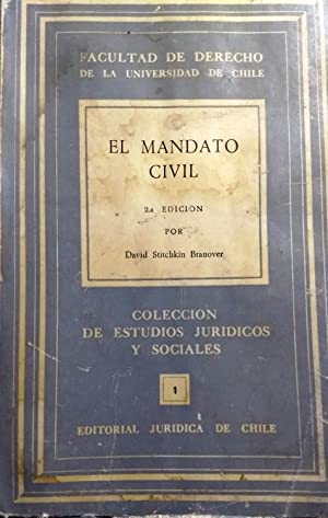 El mandato civil: Stitchkin Branover, David ( 1912-1997 )