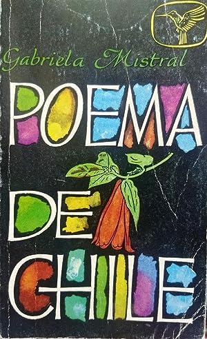Poema de Chile. Texto revisado por Doris Dana. Proyecto tipográfico y viñetas de Will Faber: ...