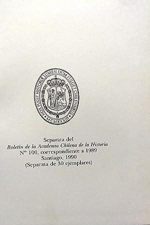 5 Obras publicadas en el Boletín de la Academia Chilena de la Historia: Hanisch Espíndola S.J.,...