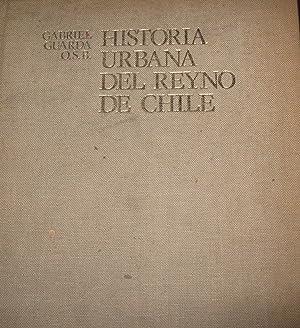 Resultado de imagen para Gabriel Guarda,  Historia urbana del Reino de Chile