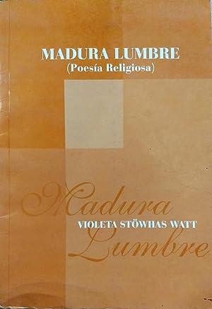Madura lumbre ( Poesía religiosa ): Stöwhas Watt, Violeta