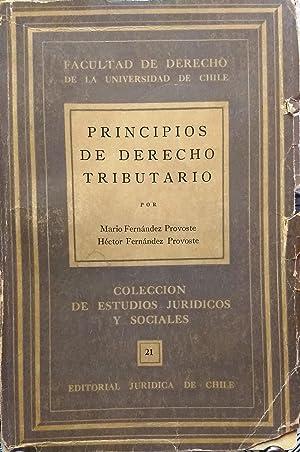 Principios de derecho tributario: Fernández Provoste, Mario