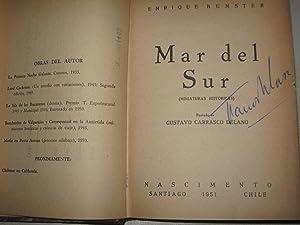Mar del sur ( miniaturas históricas ): Bunster, Enrique (1912-1976)